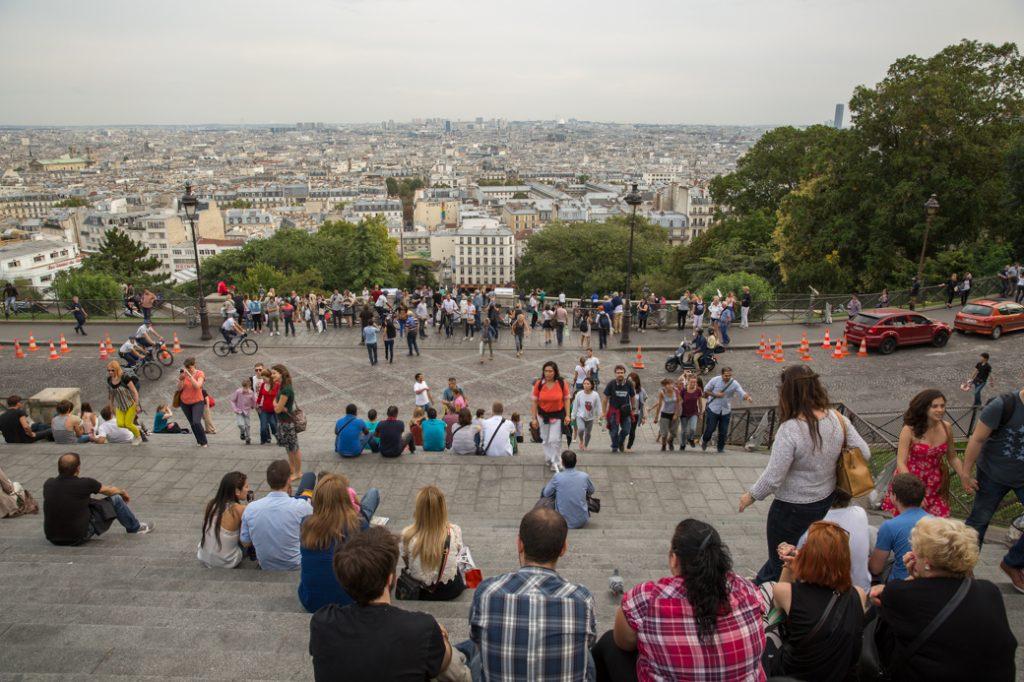 Uitzicht vanaf de Sacré-Coeur