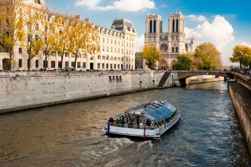 boottocht op de Seine